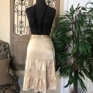 Banana republic 100%silk skirt